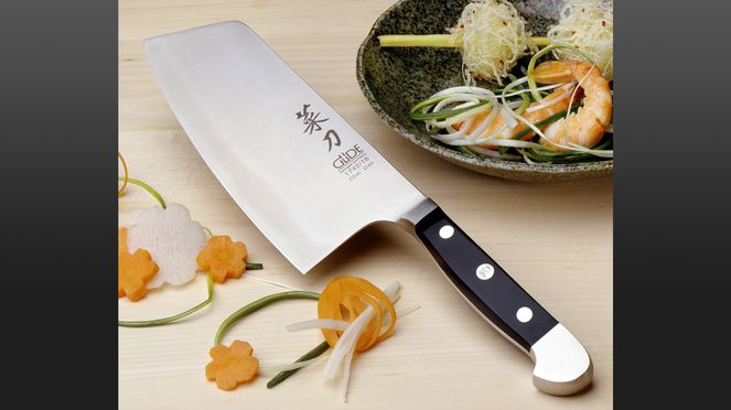 The Chinese chef's knife Alpha is suitable for Asian dishes