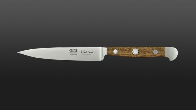 Güde lardoning knife with particularly pointed, rust-proof blade
