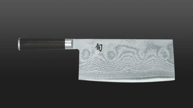 The Chinese chef's knife reminds of a meat chopper