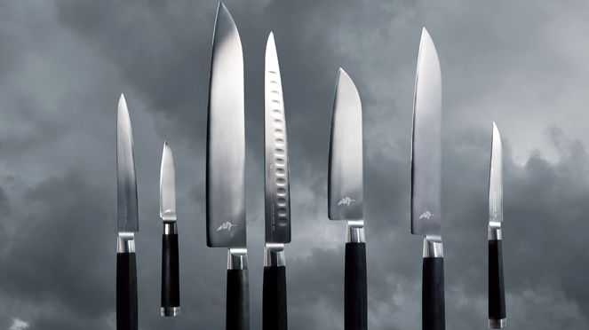 "Michel Bras knives are real ""bijoux"""