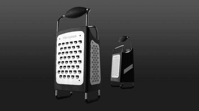 multifunctional grater with four different grating surfaces