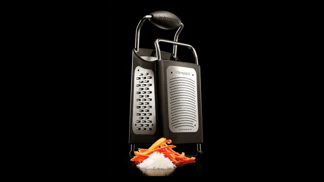 The multifunctional grater with the favoured grating surfaces