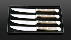 steak knife set barrel oak