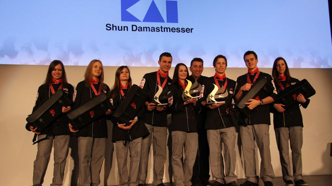 Kai damask steel knives is sponsor
