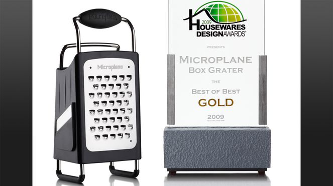 The multifunctional grater - awarded by the Housewares design award
