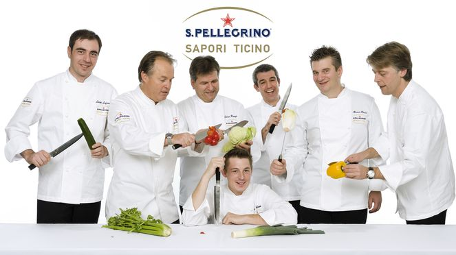 The flexible salmon knife is also used by Sapori Ticino chefs