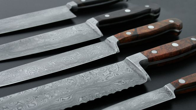 Güde damask knives series