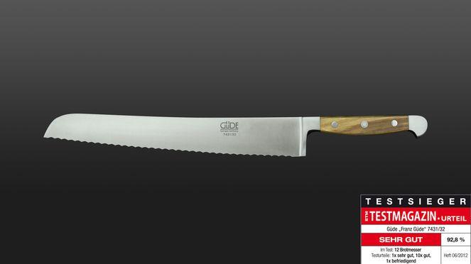Küchenprofi Messer Profi Line Test ~ brotmesser olive profi