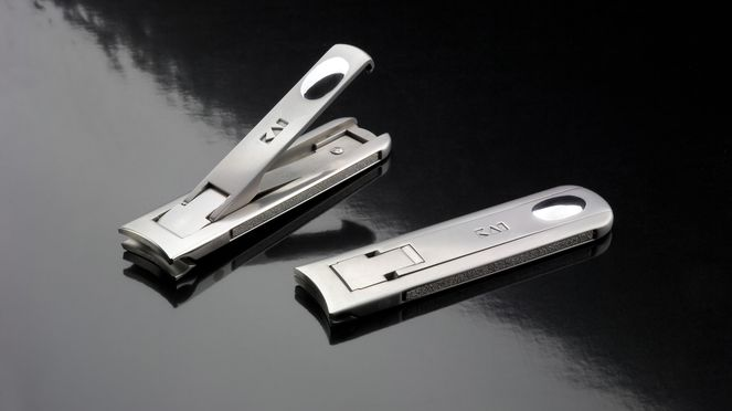 The nail clipper is suitable for pedicure and for manicure