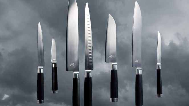 The Michel Bras steak knife is part of the Michel Bras knives series