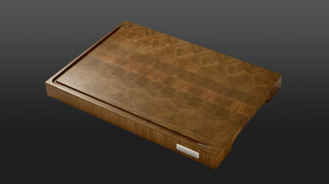 The chopping board Nesmuk is made of quality oak wood.