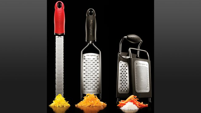 Large range of Microplane graters