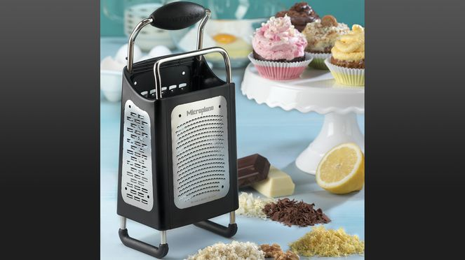 multifunctional grater with removable surface - for easy cleaning