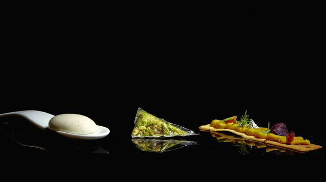 Anand Gaggan's Food Kreationen