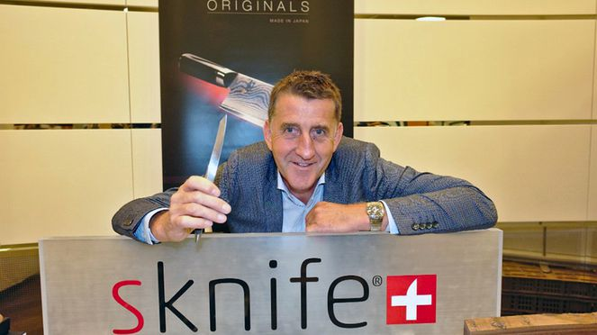 sknife CEO Michael Bach, Preferred Supplier der Swiss Deluxe Hotels