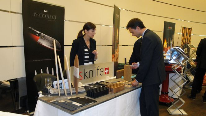 sknife exposition, preferred supplier Swiss Deluxe Hotels