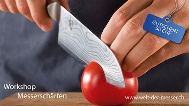 Knife Academy: Workshop Messerschärfen
