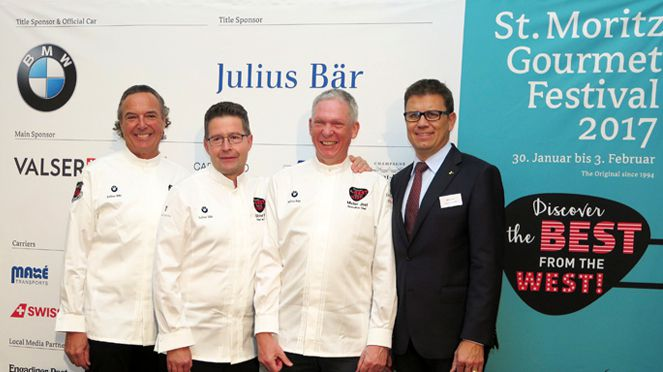 St. Moritz Gourmet Festival 2017 steht unter Motto USA – Discover the Best from the West