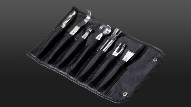 knife bag Wasabi – garnish set