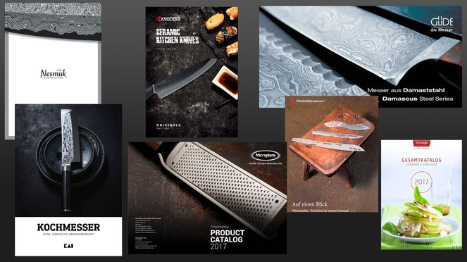 Brochures of all brands distributed by CeCo ltd. - world-of-knives.ch