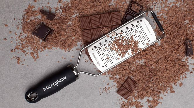 The Microplane rasp is ideal for grating great deals of chocolate