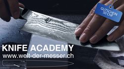 all brands, Gift voucher Knife Academy 50 CHF