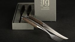 Custom knife, Cutlery Set Franck Giovannini