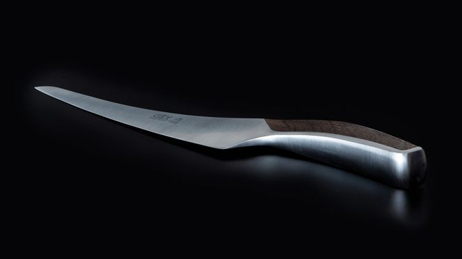 Synchros slicing knife with 26 cm long slender blade